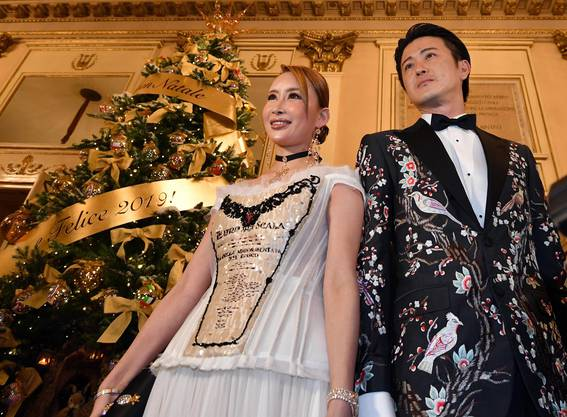 Gäste aus der ganzen Welt reisten zur Saisoneröffnung der Scala an.