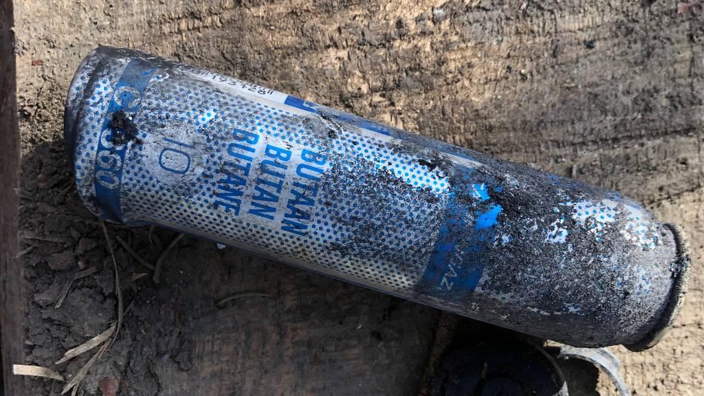 Gaskartusche explodiert bei Waldausflug einer Spielgruppe