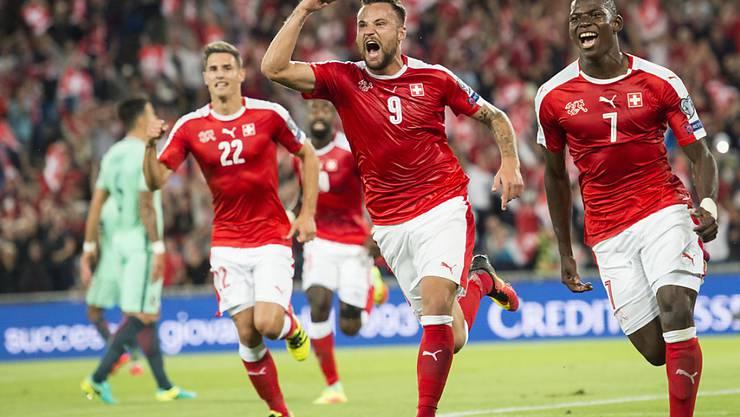 Viel Qualität und Spielfreude: Die Schweizer Nationalmannschaft hat noch keinen Punkt abgegeben