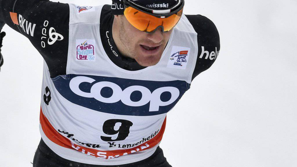Auch ohne Tagessieg ein Sieger: Dario Cologna