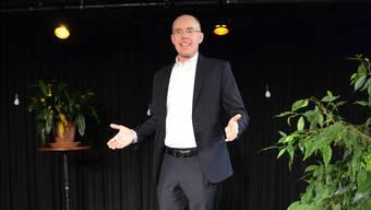 Thomas Skipwith weiss, worauf es beim Reden vor Publikum ankommt. Bild: Christian Breitschmid