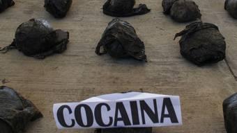 Die Armee beschlagnahmte fast vier Tonnen Kokain