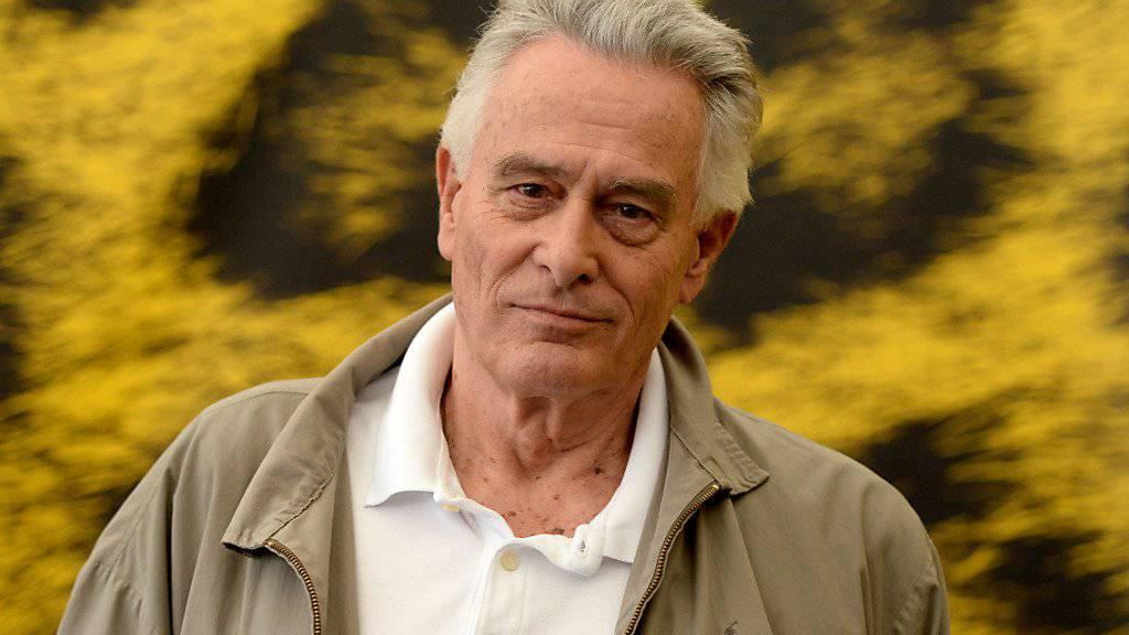 Klaus Wildbolz 2014 am Festival del film in Locarno, wo er seinen Film «Schweizer Helden» präsentierte. Am Donnerstag ist er in einem Wiener Spital verstorben. (Archivbild)