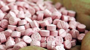 Ecstasy-Tabletten (Symbolbild)