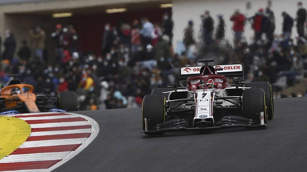 Die Formel 1, hier Kimi Räikkönen, könnte heuer in die Algarve zurückkehren