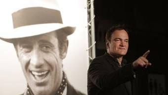 Regisseur Quentin Tarantino würdigt Belmondo (Bild vom Montag)