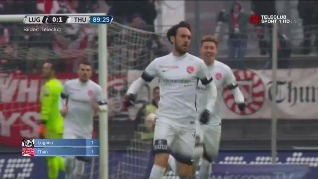 Lausanne/GC — Lugano/Thun — YB/Basel — Aarau/Wohlen — FCZ/Wil