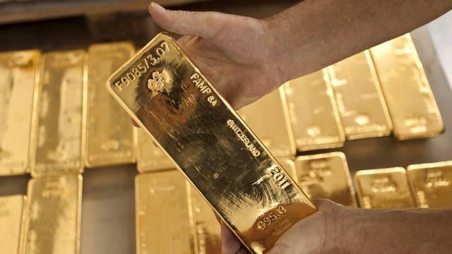 Der Goldpreis klettert in die Höhe (Archiv)
