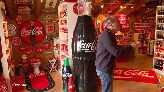 Mis Hobby: Der Coca-Cola-Fan