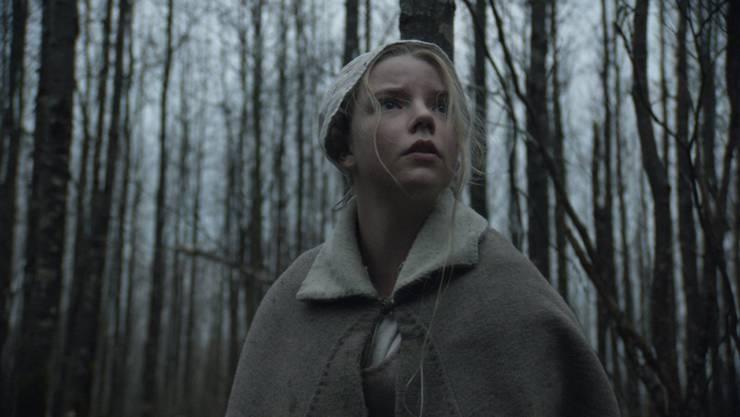 """""""The Witch"""" spielt um 1630 und zeigt den religiösen Wahn der streng puritanischen Gemeinschaften Neuenglands auf."""