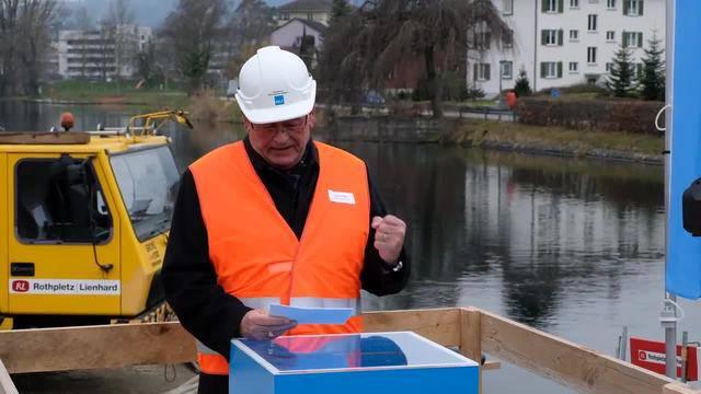 «Heute geht es ums Grobe»: Der Zürcher Baudirektor Markus Kägi spricht zum offiziellen Beginn des Kraftwerksausbaus