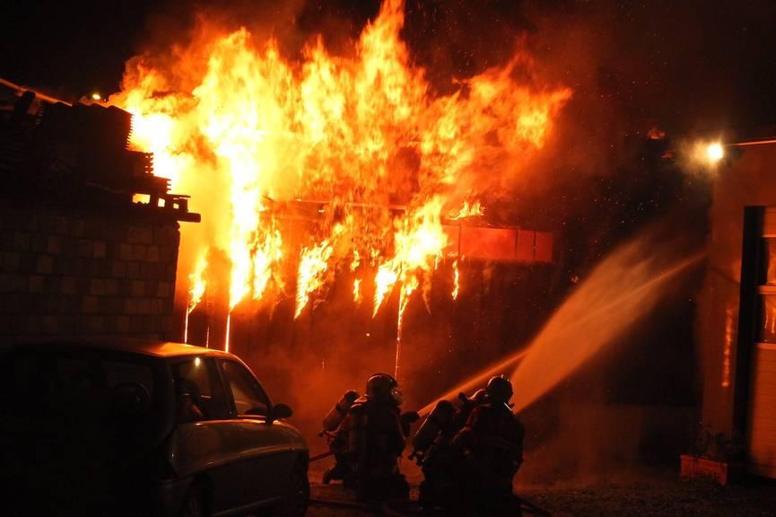 Die Scheune in Sargans brannte dieses Jahr nicht zum ersten Mal.