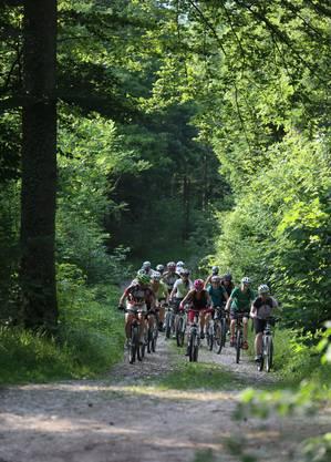 Das Gruppenerlebnis steht für viele Biker bei den allwöchentlichen Treffs der Bikeschule Olten im Vordergrund.