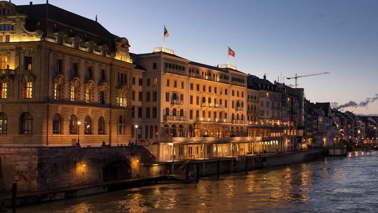 Insgesamt verzeichnet Basel von Januar bis September 488'777 Übernachtungen in Hotels.