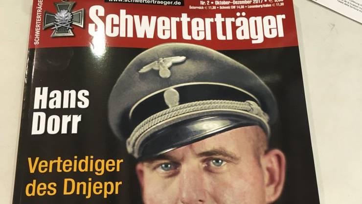 Nazi-Heft am Valora-Kiosk: Kioskbetreiberin Valora bestätigt auf Anfrage von watson, man habe die Zeitschrift in rund 50 von über 1000 Verkaufsstellen im Sortiment gehabt.
