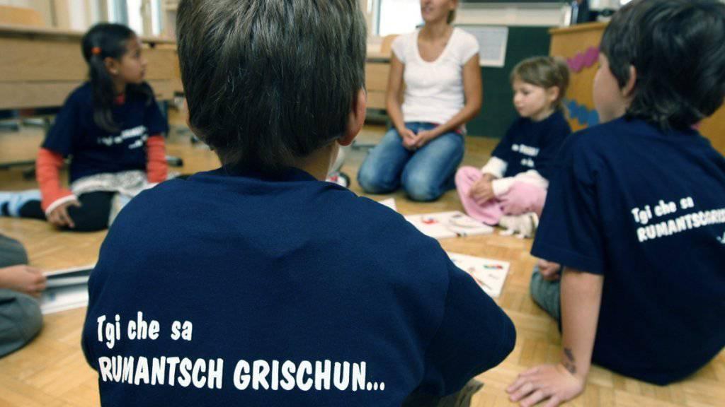 Studie: Amtssprache Rumantsch Grischun im Alltag gescheitert