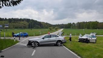 Unfall auf der «Schweissacker-Kreuzung» in Kestenholz