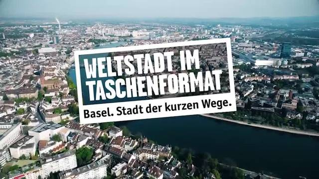 Basel präsentiert sich im neuen Imagefilm als satte Stadt der kurzen Wege
