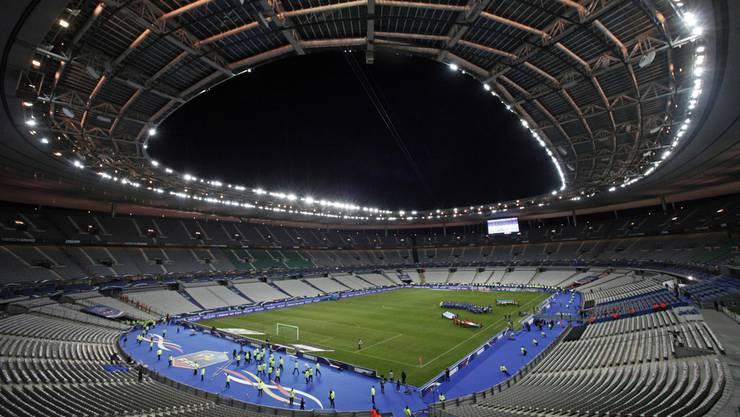 Das Stadion Saint-Denis: Hier wird geht am 10. Juni die EM los.