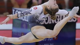 Ilaria Kaeslin verzeichnete als einzige Schweizerin in der Qualifikation einen Sturz