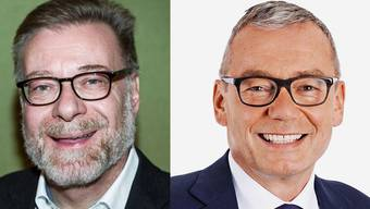 Alt SP-Regierungsrat Markus Notter (links) unterstützt im zweiten Wahlgang FDP-Kandidat Ruedi Noser.