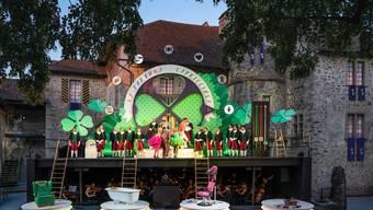 Aschenputtel beim Schloss Hallwyl: Die Suche nach der perfekten Braut wird zum Wettbewerb.