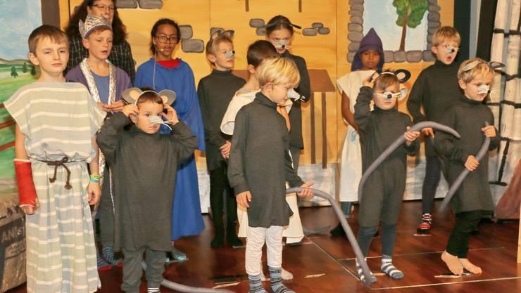 Fotos von der Aufführung des Musicals