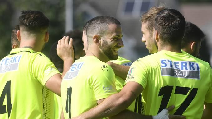 Der FC Solothurn kann jubeln. Mit einem Sieg in der zweiten Qualirunde des Schweizer Cups machen die Solothurner einen grossen Schritt in Richtung Cup-Teilnahme.
