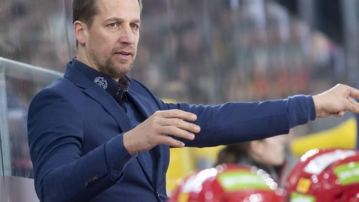 Antti Törmänen will mit dem EHC Biel unbedingt in den Playoff-Final