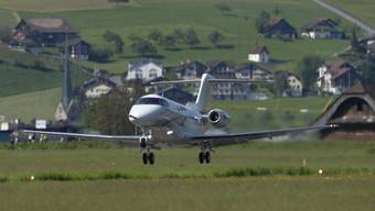 Der neue Businessjet PC-24 des Schweizer Flugzeugherstellers Pilatus