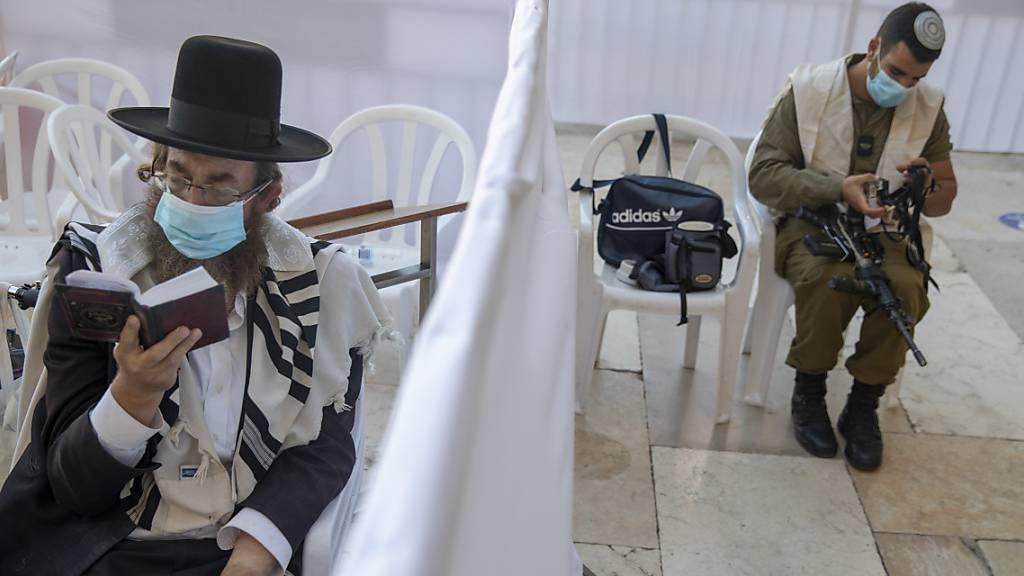 Israelische Soldaten müssen in Corona-Krise in Stützpunkten bleiben