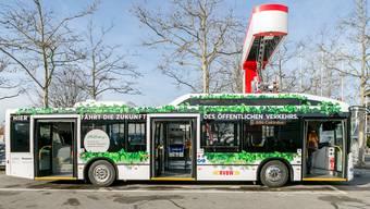 Erster Elektrobus im Aargau