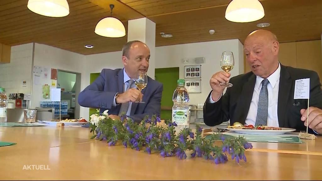 So wird der Aargauer Staatswein ausgewählt