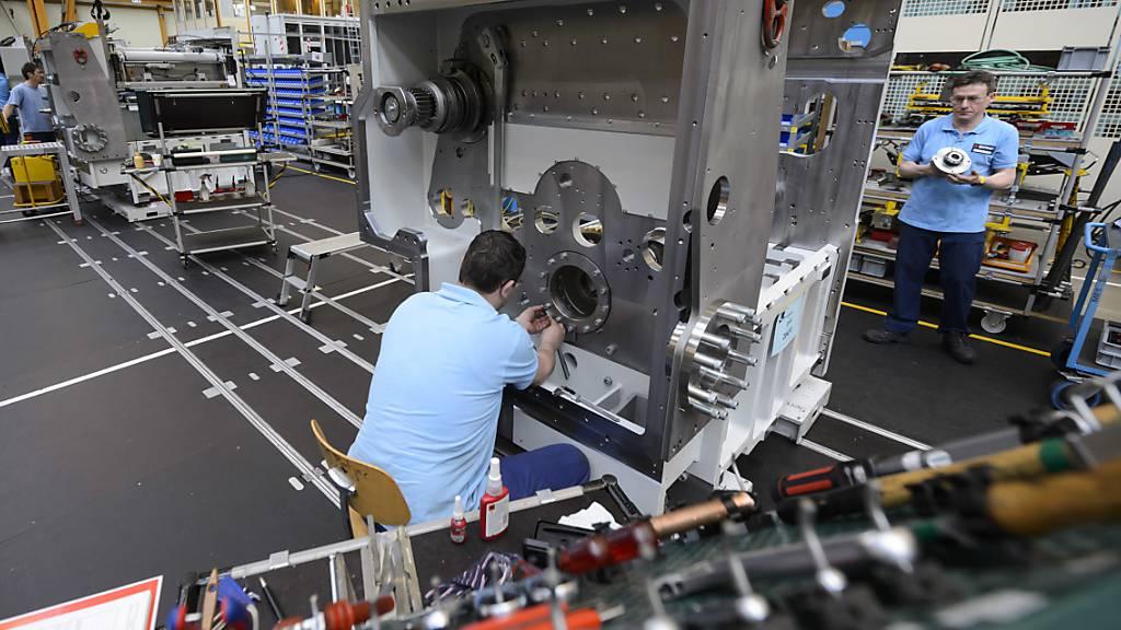 Schweizer Industrie im vierten Quartal erneut gewachsen