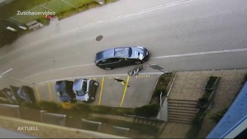 Oensingen: Ein Autofahrer rast auf 11-Jährigen zu und klaut dessen Velo