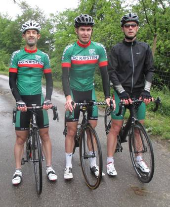 Die drei Erstplatzierten v.l. Marcel Herzog (2.), Djure Wendelspiess (1.), Markus Mutter (3.)