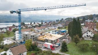 Aus alt wird neu: Die Stiftung Dankensberg lockt mit Aussicht auf den Hallwilersee.