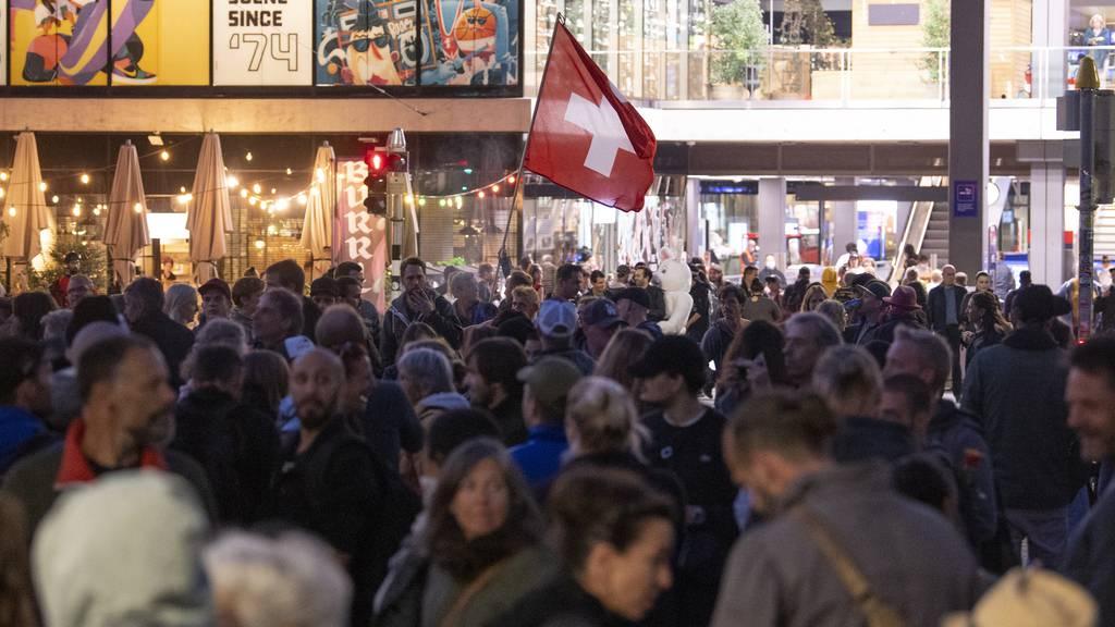 Demos stören Berner Abendverkauf