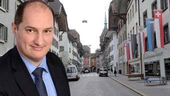 Daniel Roth (CVP) ist seit Mai 2016 Stadtschreiber in Aarau. Vorher leitete er rund sechs Jahre den Rechtsdienst des Eidgenössischen Finanzdepartements.