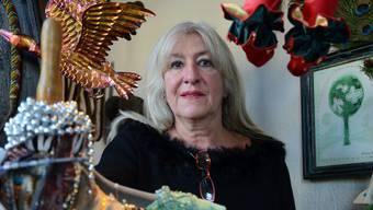 Sie verkauft seit 1978 ihre Waren auf dem Bürkliplatz: Monika Luck, die neue Präsidentin des Vereins Zürcher Flohmarkt.