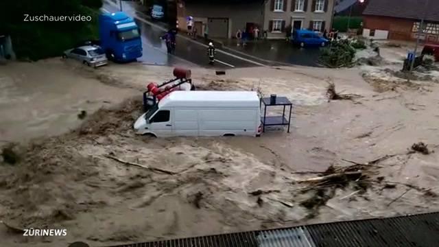 Unwetter bringt Zerstörung im Thurgau
