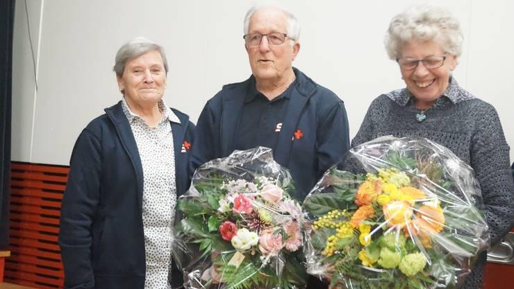 Alice Trachsler, Georg Blumenthal, und Irene Rieder