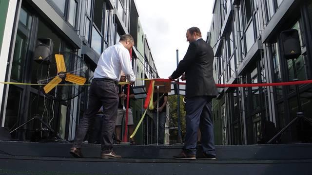 Eröffnung Schulprovisorium Ländli