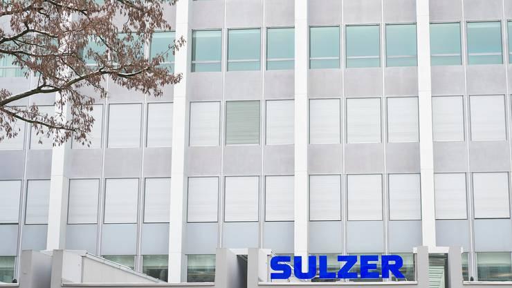 Sulzer muss auch in der Schweiz Stellen abbauen.