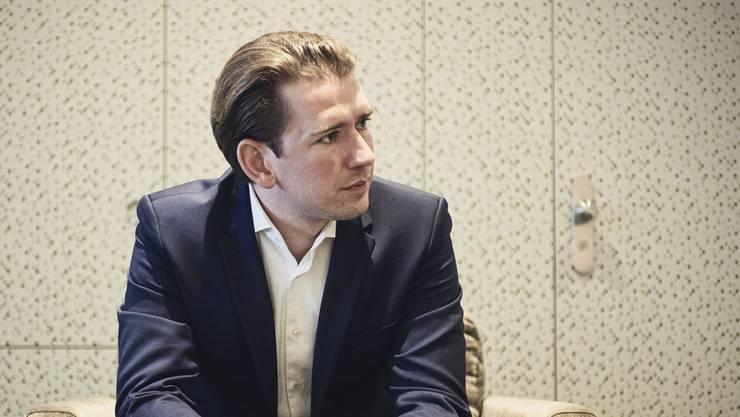 Der österreichische Bundeskanzler Sebastian Kurz will den Kontakt zur Schweiz ausbauen.