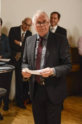 Auch im 26. Jahr hat es Paul Schär (u.) wieder geschafft, an «sein» Forum einen Bundesrat zu holen.