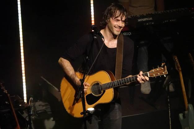 Adrian Stern hat im Nordportal seine neue CD präsentiert – mit dabei im Publikum: Sängerin Sina.