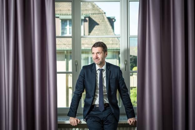 Peter Grünenfelder im Hauptsitz der Avenir Suisse.