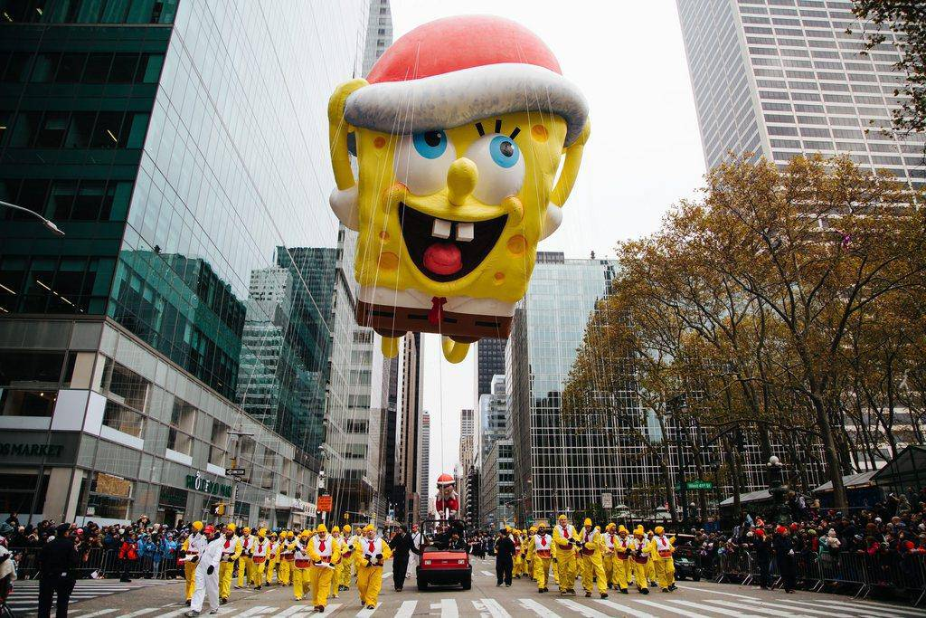 Thanksgiving Parade in New York am 24. November 2016
