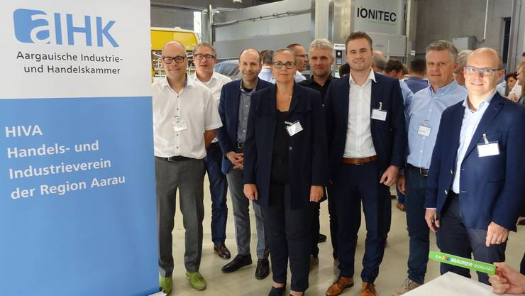 Der HIVA-Vorstand mit Geschäftsführer Tobias Maurer